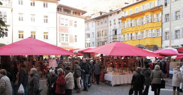 mercatino dellartigianato piazza municipio bolzano weather - photo#17