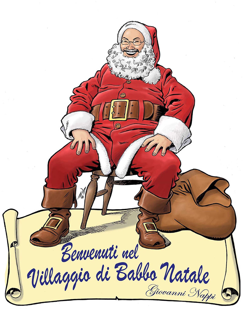 Benvenuti Nel Sito Di Babbo Natale.Mercatini Nel Villaggio Di Babbo Natale Casalnuovo Di Napoli