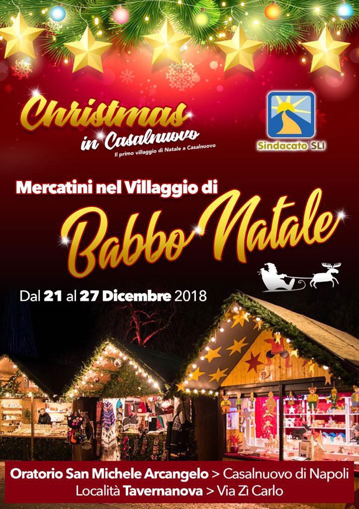 Villaggio Di Babbo Natale Cava Dei Tirreni.Tutti I Mercatini Di Natale 2019 2020 In Campania