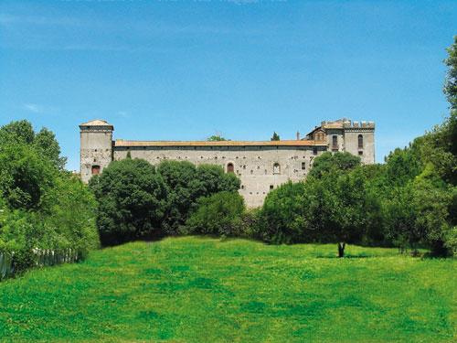 La casa di babbo natale roma for Disegni casa castello